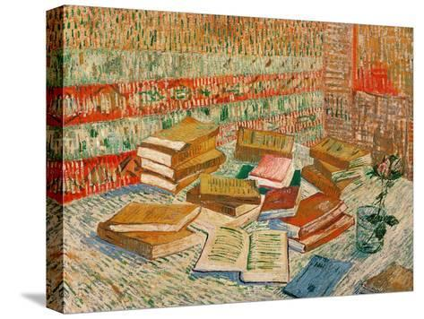 The Yellow Books, c.1887-Vincent van Gogh-Stretched Canvas Print