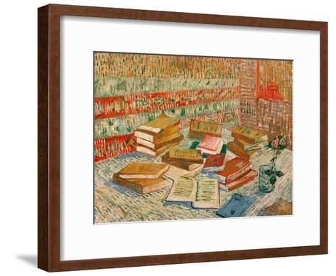 The Yellow Books, c.1887-Vincent van Gogh-Framed Art Print