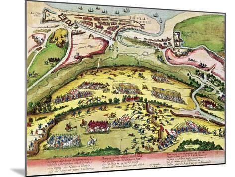 The Siege of Dieppe in 1589, 1589-92-Franz Hogenberg-Mounted Giclee Print