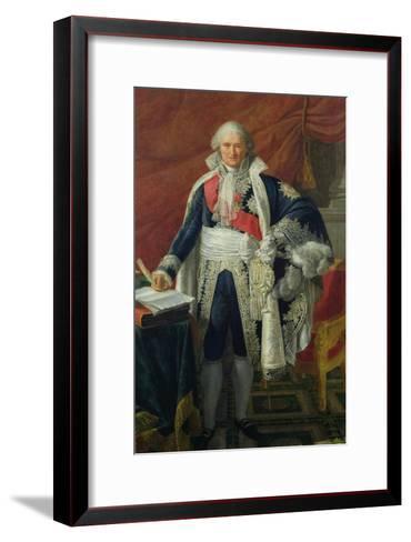 Count Jean-Etienne-Marie Portalis (1746-1807) 1806-Pierre Gautherot-Framed Art Print