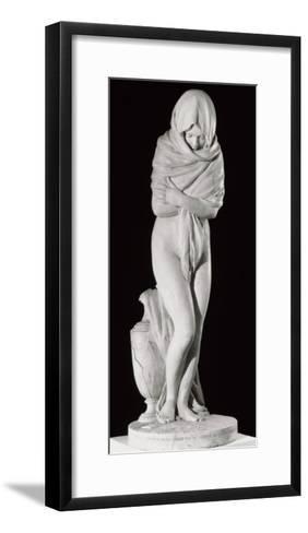 Winter, or the Chilly Woman-Jean-Antoine Houdon-Framed Art Print