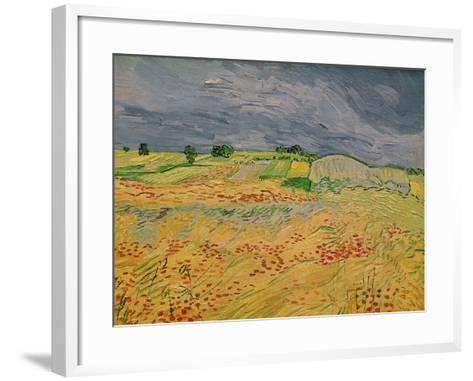 The Plain at Auvers, c.1890-Vincent van Gogh-Framed Art Print