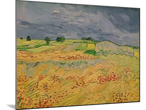 The Plain at Auvers, c.1890-Vincent van Gogh-Mounted Giclee Print