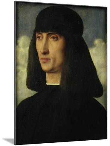 Portrait of a Young Man, circa 1500-Giovanni Bellini-Mounted Giclee Print