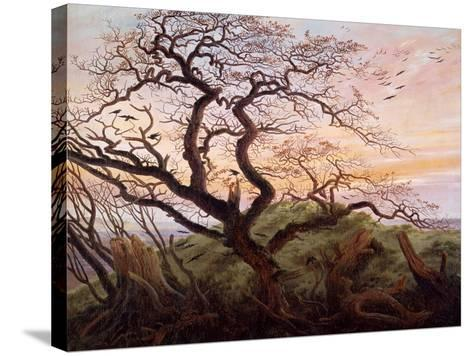 The Tree of Crows, 1822-Caspar David Friedrich-Stretched Canvas Print