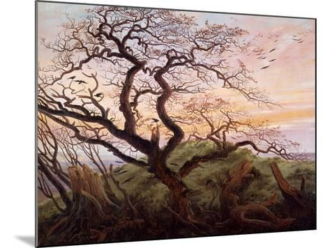 The Tree of Crows, 1822-Caspar David Friedrich-Mounted Giclee Print