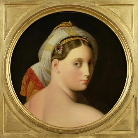 Study for an Odalisque-Jean-Auguste-Dominique Ingres-Stretched Canvas Print