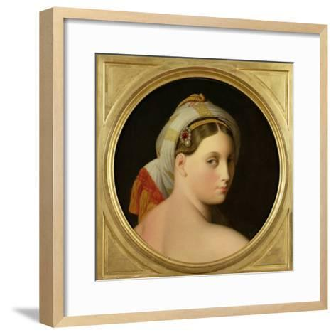 Study for an Odalisque-Jean-Auguste-Dominique Ingres-Framed Art Print