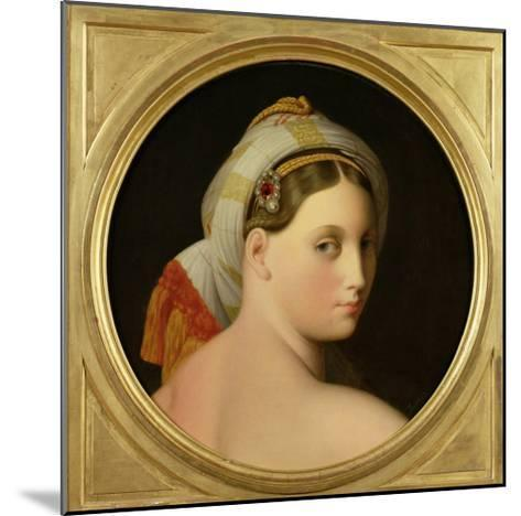 Study for an Odalisque-Jean-Auguste-Dominique Ingres-Mounted Giclee Print