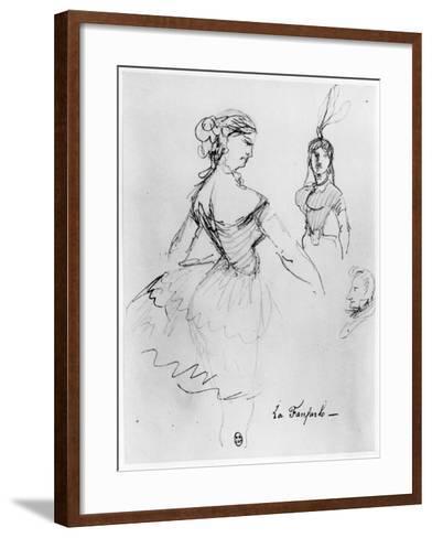 La Fanfarlo-Charles Pierre Baudelaire-Framed Art Print