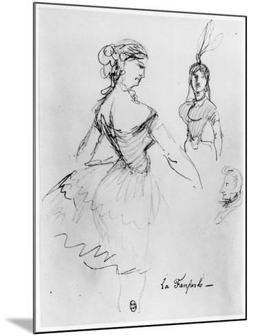 La Fanfarlo-Charles Pierre Baudelaire-Mounted Giclee Print