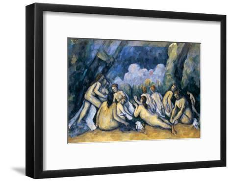 The Large Bathers, circa 1900-05-Paul C?zanne-Framed Art Print