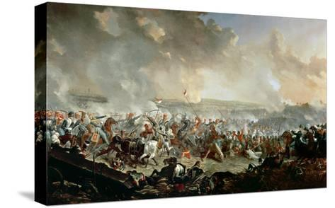 The Battle of Waterloo, 18th June 1815-Denis Dighton-Stretched Canvas Print