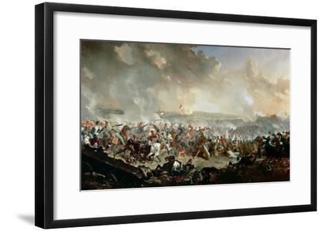The Battle of Waterloo, 18th June 1815-Denis Dighton-Framed Art Print