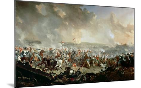 The Battle of Waterloo, 18th June 1815-Denis Dighton-Mounted Giclee Print