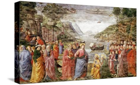 The Calling of Ss. Peter and Andrew, 1481-Domenico Ghirlandaio-Stretched Canvas Print