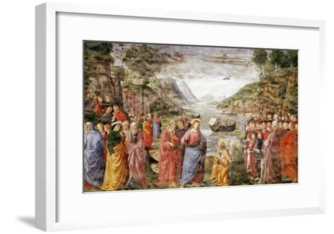 The Calling of Ss. Peter and Andrew, 1481-Domenico Ghirlandaio-Framed Art Print