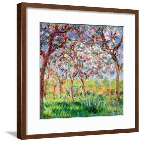Printemps a Giverny, 1903-Claude Monet-Framed Art Print