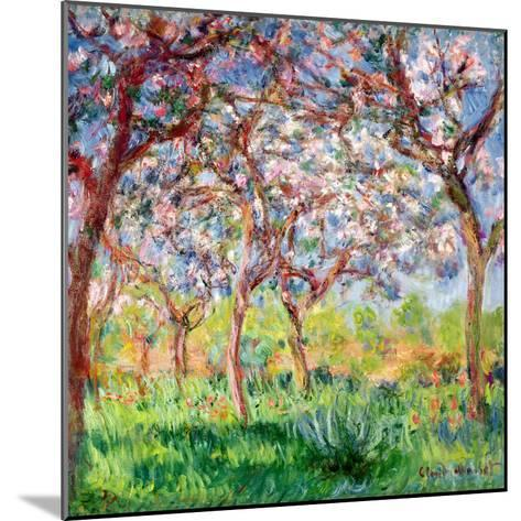 Printemps a Giverny, 1903-Claude Monet-Mounted Giclee Print