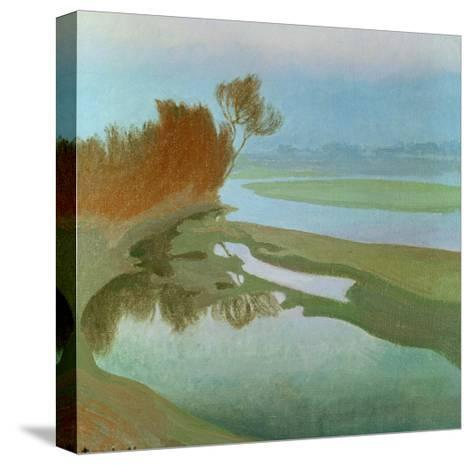 Landscape-Charles Marie Dulac-Stretched Canvas Print
