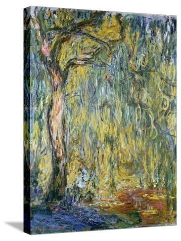 The Large Willow at Giverny, 1918-Claude Monet-Stretched Canvas Print