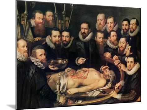 The Anatomy Lesson of Doctor Willem Van Der Meer in Delft Giclee ...