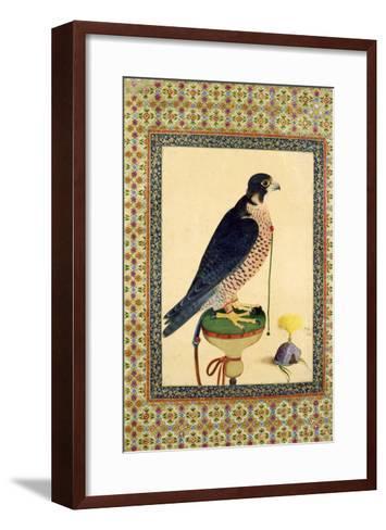 Falcon, from a Moraqqa--Framed Art Print
