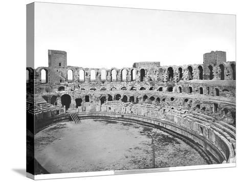 Interior View of the Amphitheatre--Stretched Canvas Print