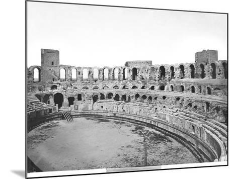 Interior View of the Amphitheatre--Mounted Giclee Print