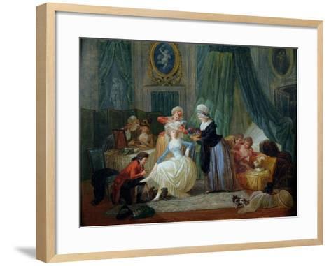 The Toilet-Francois Louis Joseph Watteau-Framed Art Print
