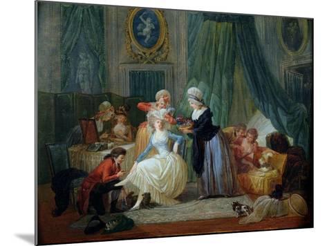 The Toilet-Francois Louis Joseph Watteau-Mounted Giclee Print