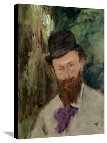 Portrait of Edouard Manet (1832-83) circa 1880-Charles ?mile Carolus-Duran-Stretched Canvas Print