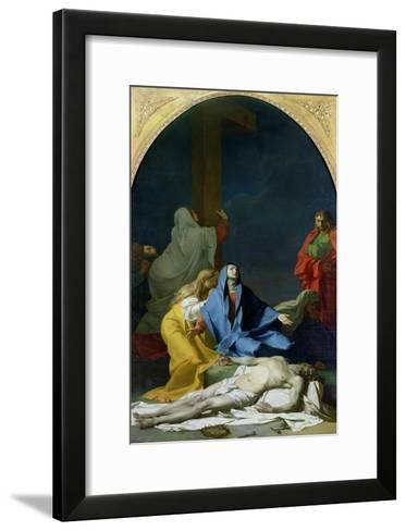 The Deposition, 1789-Jean-Baptiste Regnault-Framed Art Print