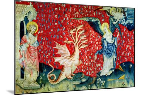 """The Woman Receiving Wings to Flee the Dragon, No.37 from """"The Apocalypse of Angers,"""" 1373-87-Nicolas Bataille-Mounted Giclee Print"""