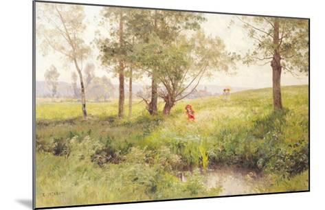 Landscape-Emile Isenbart-Mounted Giclee Print