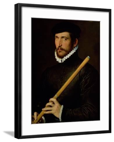 The One-Eyed Flautist, 1566--Framed Art Print