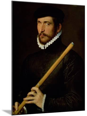 The One-Eyed Flautist, 1566--Mounted Giclee Print