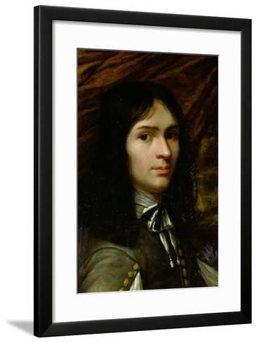 Portrait of Rene Descartes (1596-1650)--Framed Art Print