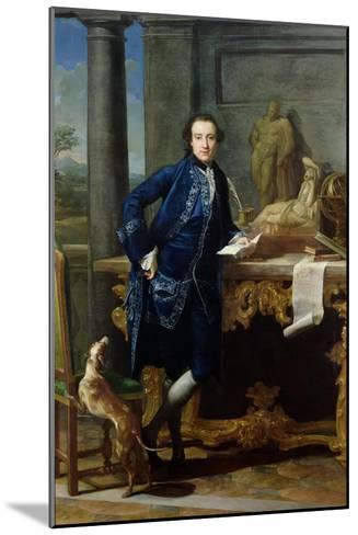 Portrait of Charles John Crowle (1738-1811) of Crowle Park, circa 1761-62-Pompeo Batoni-Mounted Giclee Print