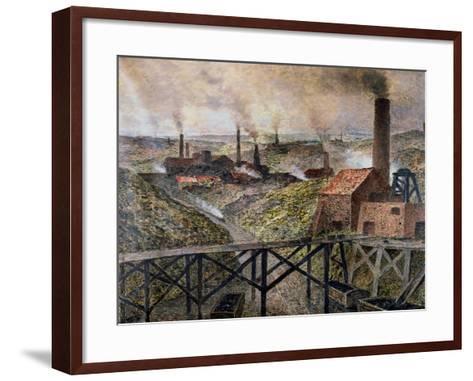 In the Black Country, 1890-Constantin Meunier-Framed Art Print