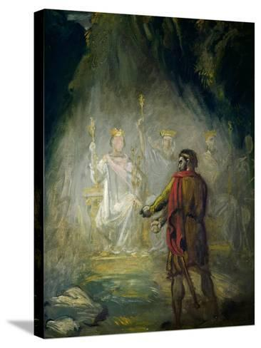 Macbeth-Theodore Chasseriau-Stretched Canvas Print