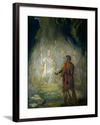 Macbeth-Theodore Chasseriau-Framed Art Print