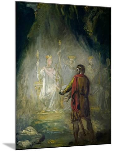 Macbeth-Theodore Chasseriau-Mounted Giclee Print
