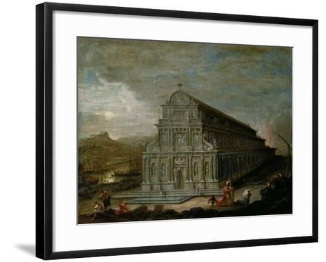 The Seven Wonders of the World: the Temple of Of Diana at Ephesus-Wilhelm van Ehrenberg-Framed Art Print
