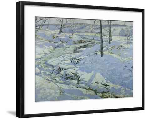 Morning Light, 1922-Walter Elmer Schofield-Framed Art Print