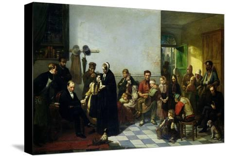 The Doctor for the Poor-J. Leonard-Stretched Canvas Print