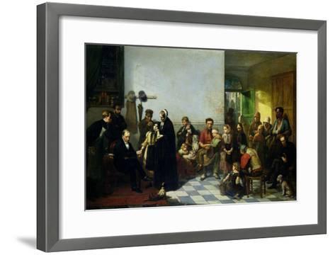 The Doctor for the Poor-J. Leonard-Framed Art Print
