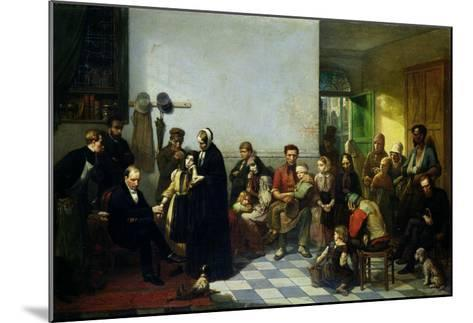 The Doctor for the Poor-J. Leonard-Mounted Giclee Print