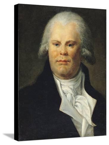 Portrait of Georges Danton (1759-94)--Stretched Canvas Print