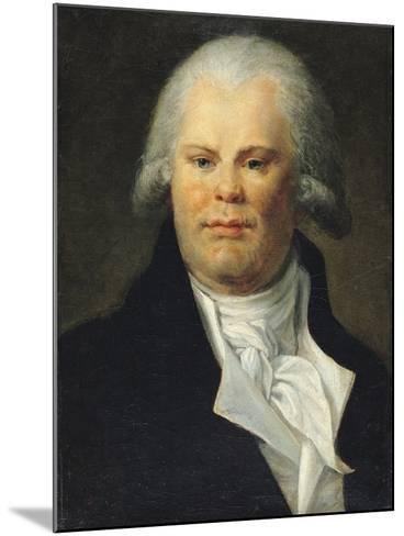 Portrait of Georges Danton (1759-94)--Mounted Giclee Print